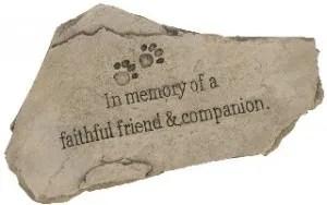 dog died sympathy gifts