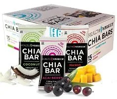 chia bars health and wellness gifts
