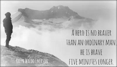 Courage to Write mountain climber parable