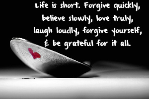 forgive yourself bad relationship