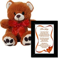 teddy bear breakup letter