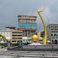 Backpacking South East Asia: Brunei - Walking around the streets of Bandar