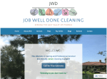 Job Well Done Cleaning Website