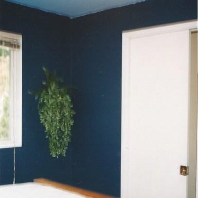 Organized Bedroom, Bathroom Door Kept Closed