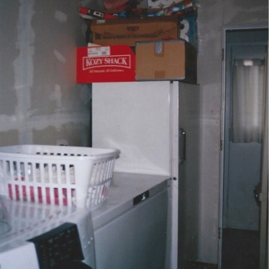 Hallway De-Cluttered, Still Needs Painting