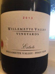 2013 Willamette Valley Vineyards Pinot Noir