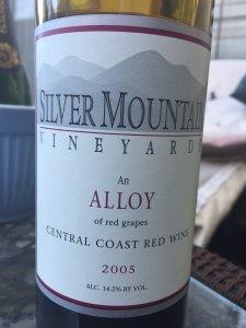 2005 Silver Mountain Central Coast Alloy