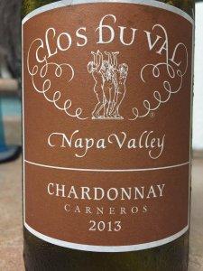 2013 Clos Du Val Napa  Chardonnay