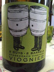 2013 Jeff Cohn Cellars 2guys-2barrels Viognier