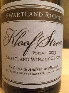 2013 Mullineux Wines Swartland Rouge Syrah