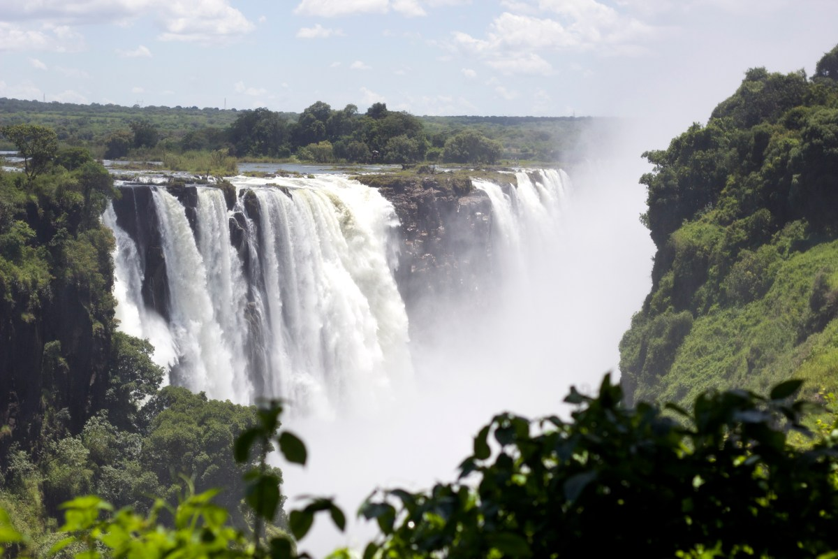Victoria Falls Natural Of World Africa