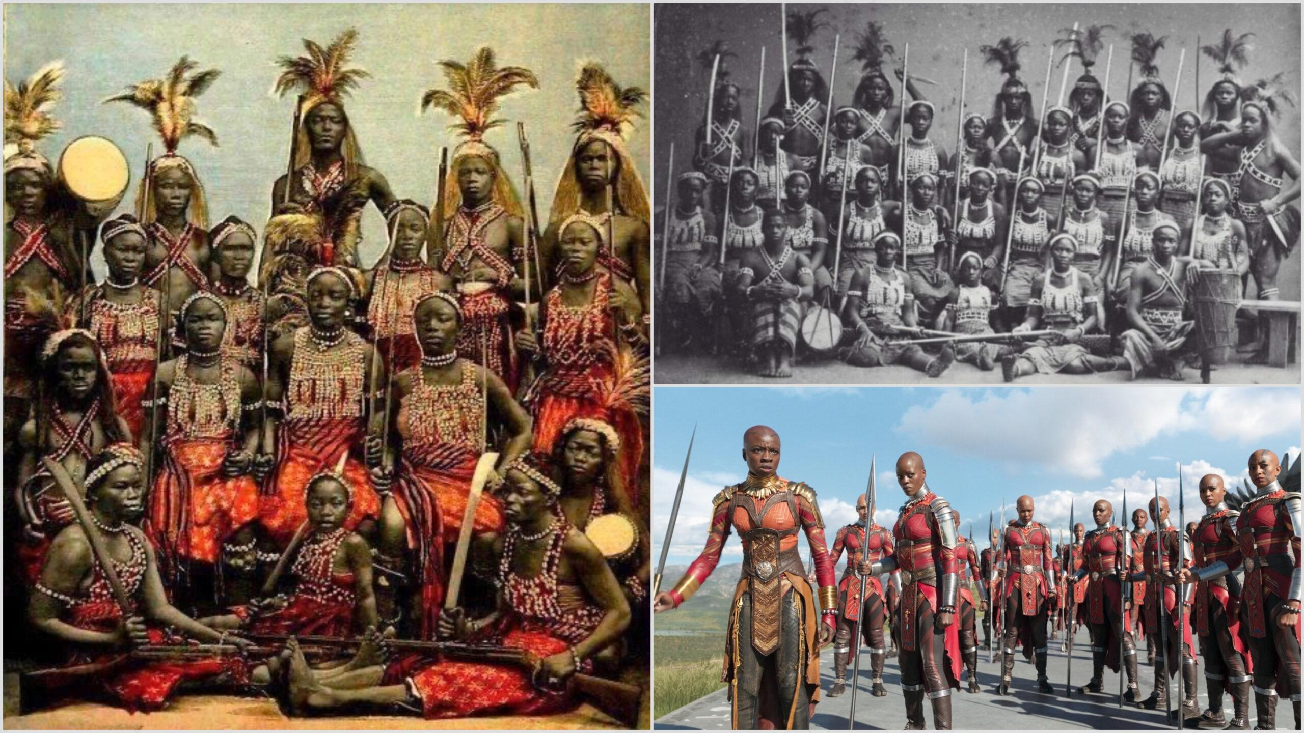 African women warriors from Dahomey Kingdom (17th century) that inspired Black Panther