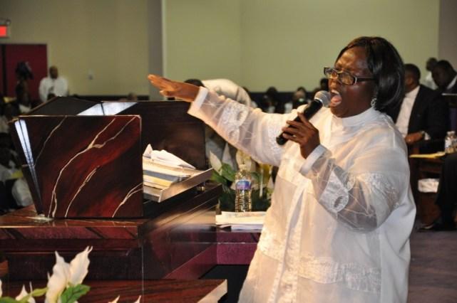 Pastor Sarah Kendema. Photo: James Fasuekoi | The AfricaPaper