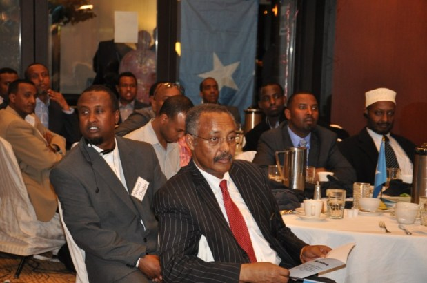 Mohamoud Hamud from  Rochester . Photo, Issa Mansaray/The AfricaPaper