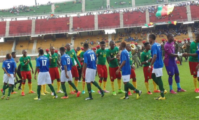 Sierra Leone's Under-23 team eliminated their Cameroonian counterparts. Photo Abubakarr Kamara/The AfricaPaper