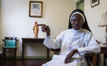 Sister Patricia Marie Williams. Photo: Benjamin Parkin