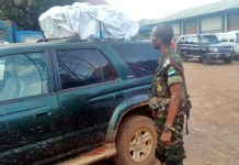 Transporting Ballot Papers in Sierra Leone