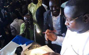 Sierra Leone's President-Elect Julius Maada Bio. Photo: Abubakarr Kamara/The AfricaPaper