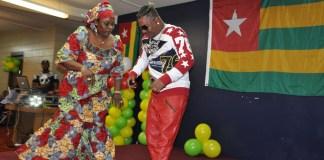 Ali-Jezz celebrates. Photo: Issa Mansaray/The AfricaPaper