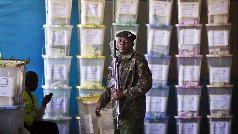 Chris Msando. Photo by courtesy