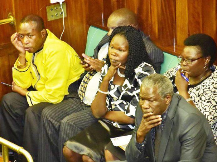 Parliament in somber mood for slain Abiriga. Photo: Henry Owino/ The AfricaPaper