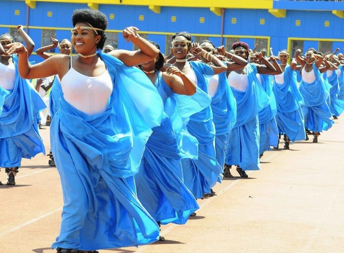 A colourful display of Rwandan culture. Photo: Anthony A. K. Kamara, Jnr / The AfricaPaper.