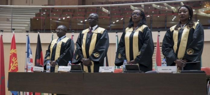 Members of the PAP Secretariat. Photo: Anthony A. K. Kamara / The AfricaPaper