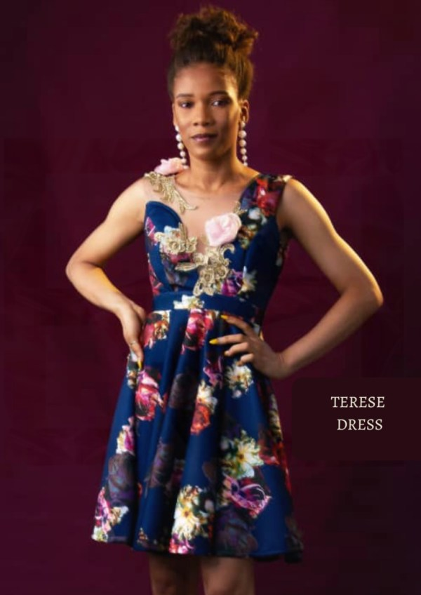 The Afrocentrics - TERESE Dress