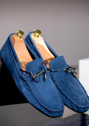 Fresh By Dotun Suede Drivers