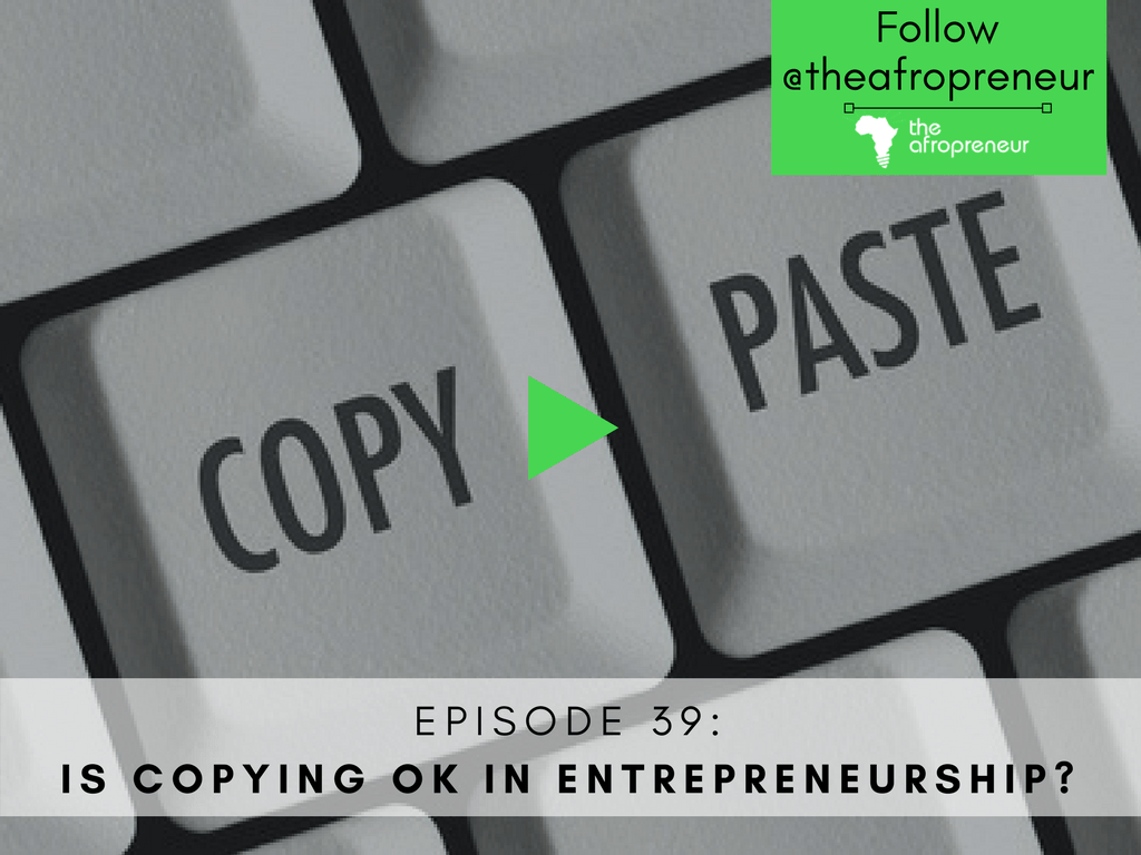 Copying Afropreneur POdcast Web