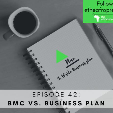 BMC-Business Plan Afropreneur POdcast Web