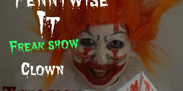 How To Do Clown Makeup- It/Pennywise Tutorial