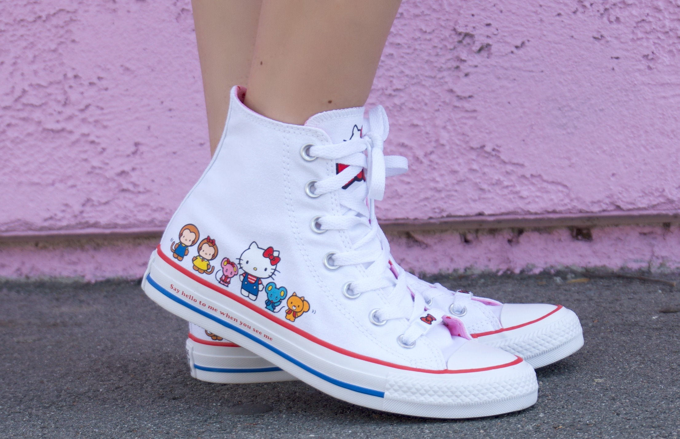 converse hello kitty kinder