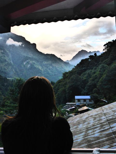 View from Danakyu Tea House