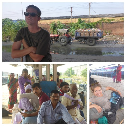 Desperately waiting on a train - The Good, The Bad and The Gorkahpur – a terrible, terrible place