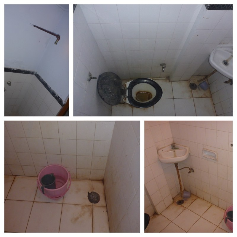 Horrible Nasty Bathroom