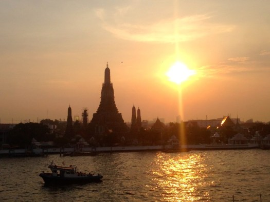 Wat Arun, Sunset