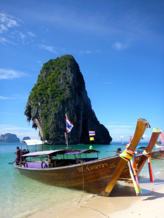 Longtail Boats - Krabi,, Thailand