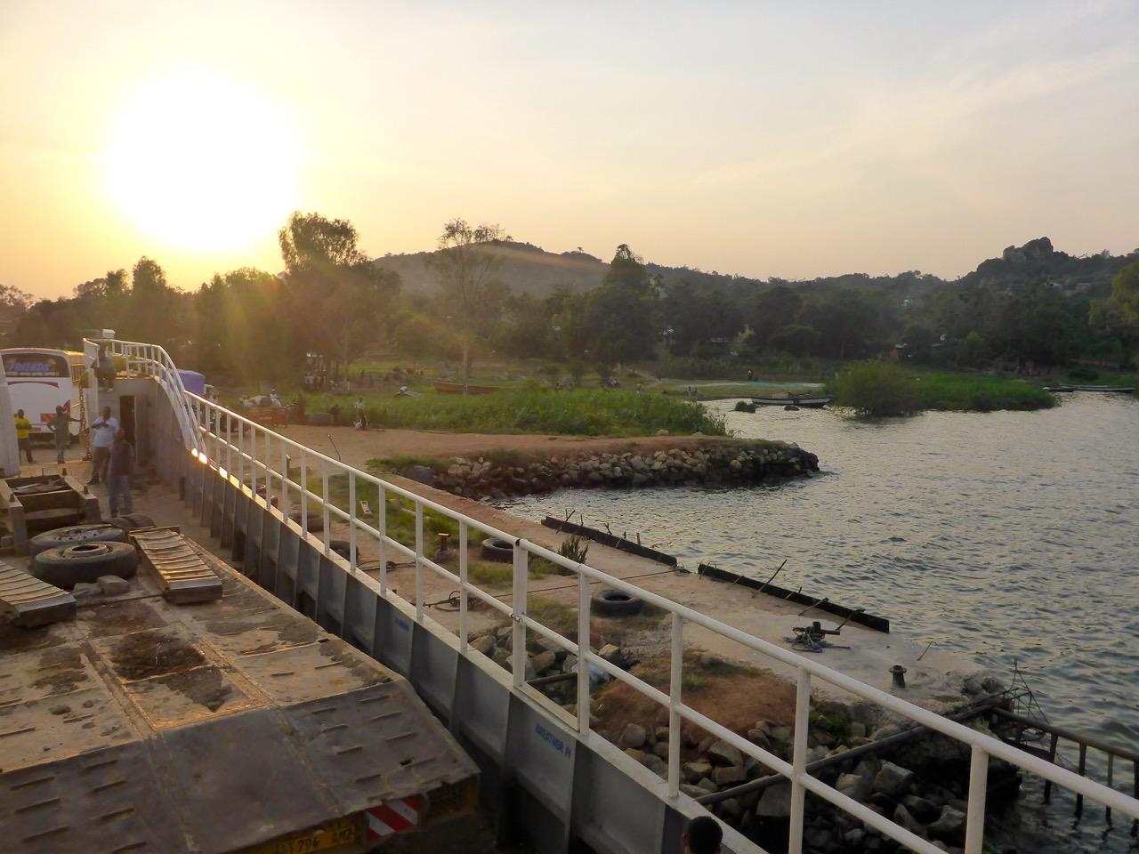Ferry to Mwanza