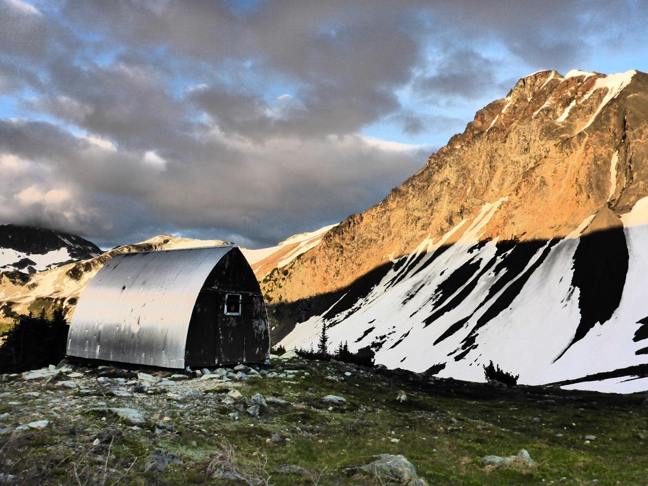 Hut British Columbia, Canada