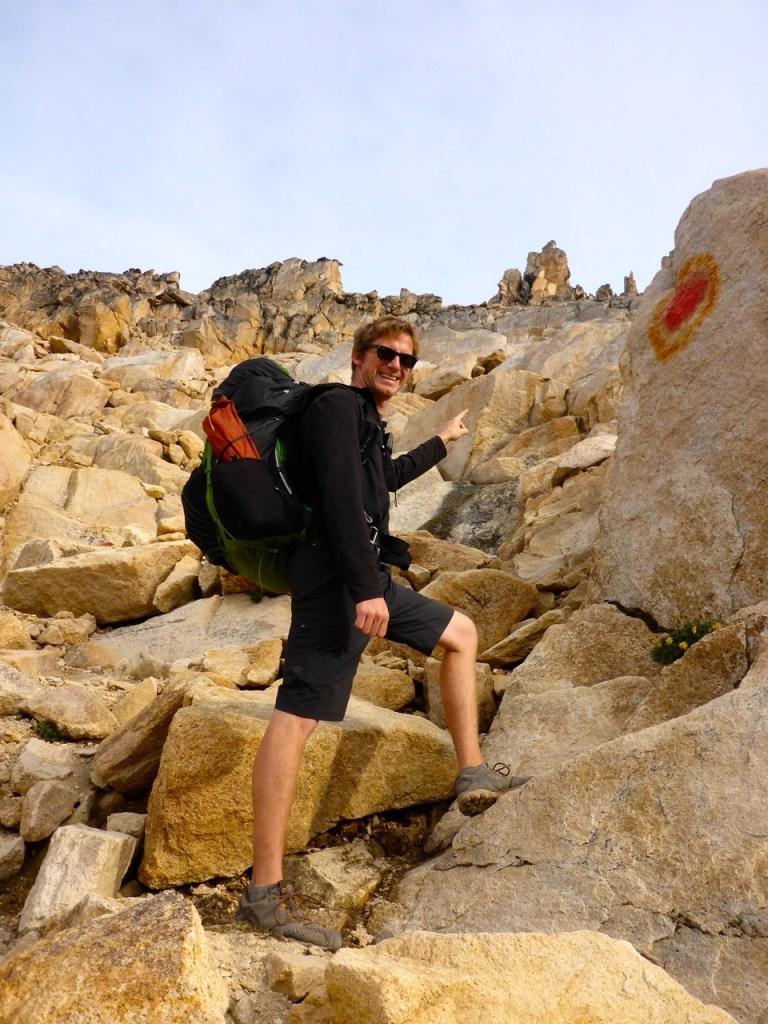 Rick Climbing mountains