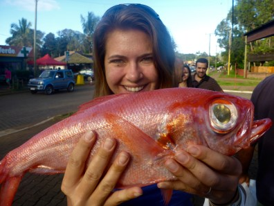 Red Snapper on Easter Island