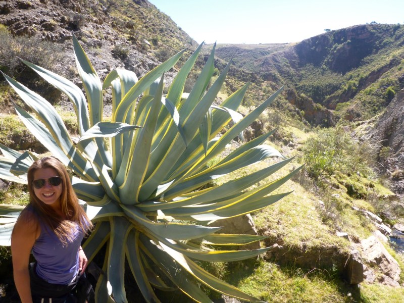 hiking around sucre, bolivia