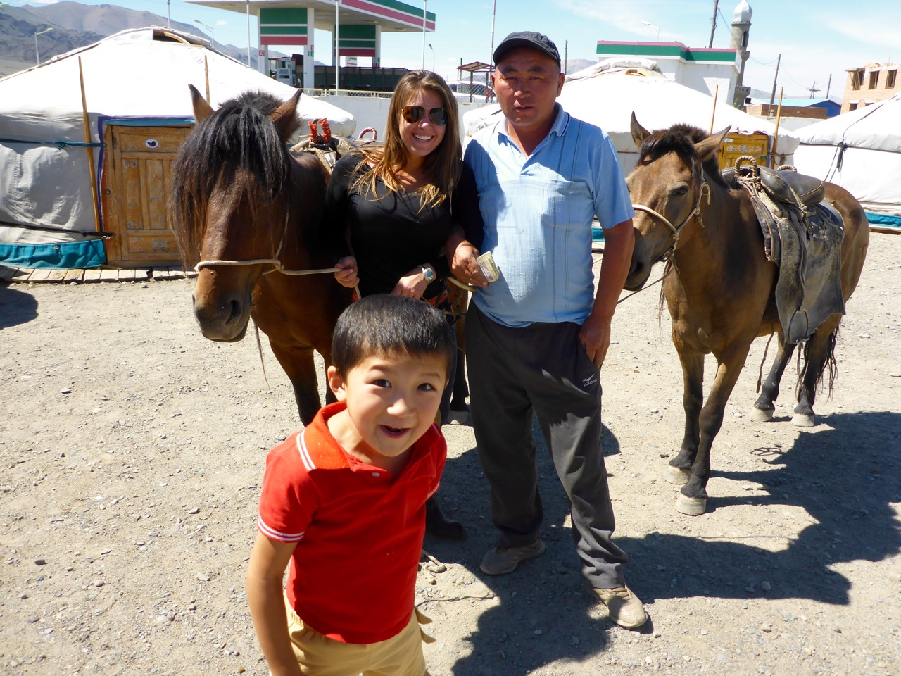 Buying Horses in Ölgii, Mongolia