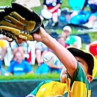 Flat Hat Brim Saves Little League Pitcher's Life