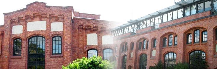 """220 Quadratmeter große freundliche Büroräume in Hamburg Bahrenfeld - im Kraftwerk - suchen einen neuen Mieter. Vielleicht ja aus dem Bereich """"Gastronomie""""?"""
