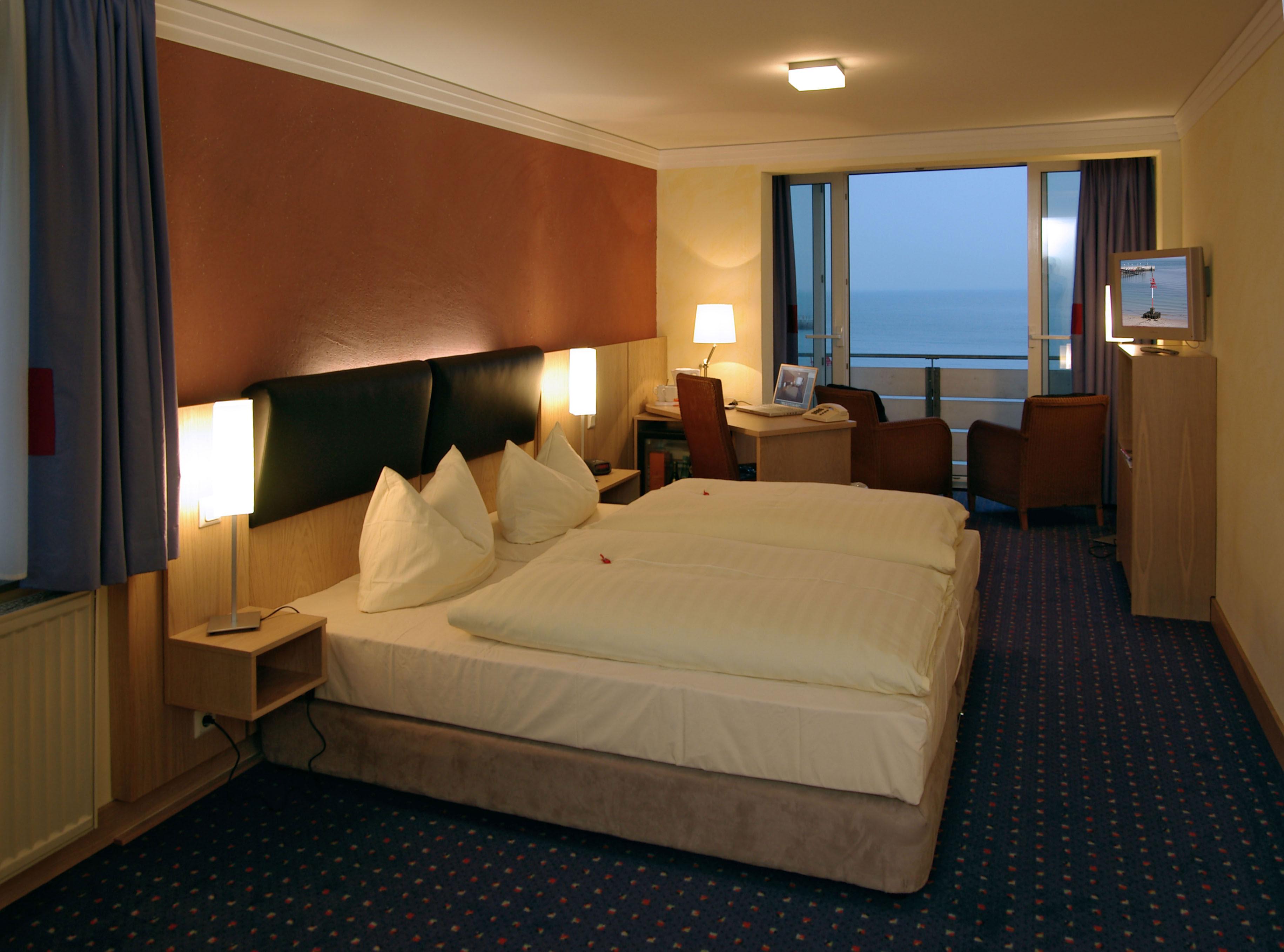 Panorama-Doppelzimmer im Hotel Rickmers Insulaner
