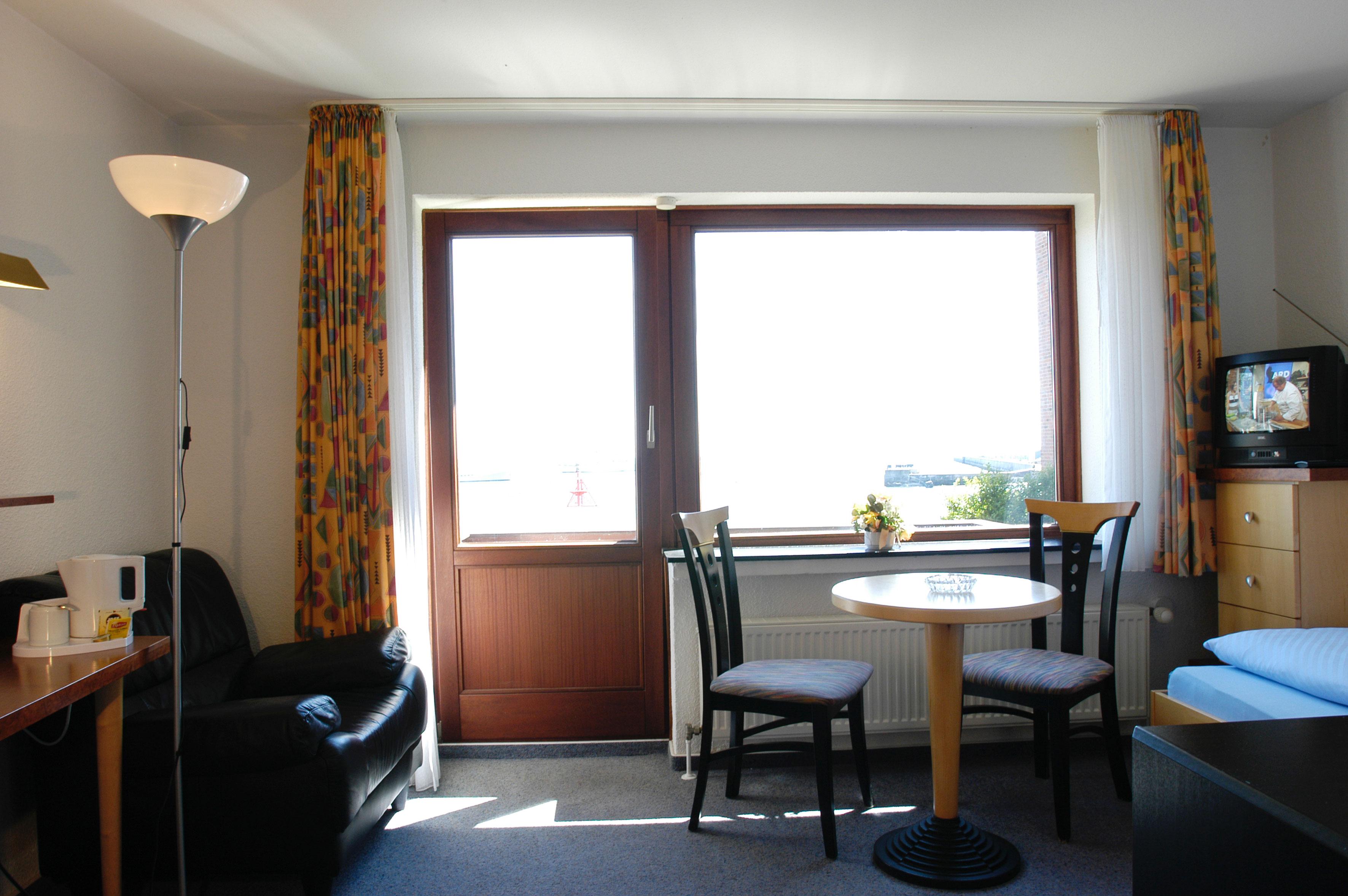 Panorama-Einzelzimmer im Hotel Rickmers Insulaner