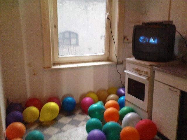 Gängeviertel - Typische Altbauküche
