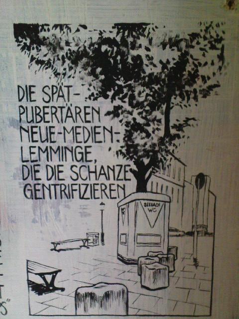 Gängeviertel - Neue Medien Lemminge
